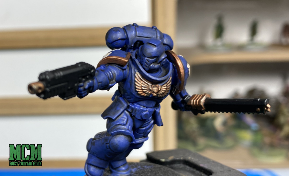 Painting #New40K Space Marines