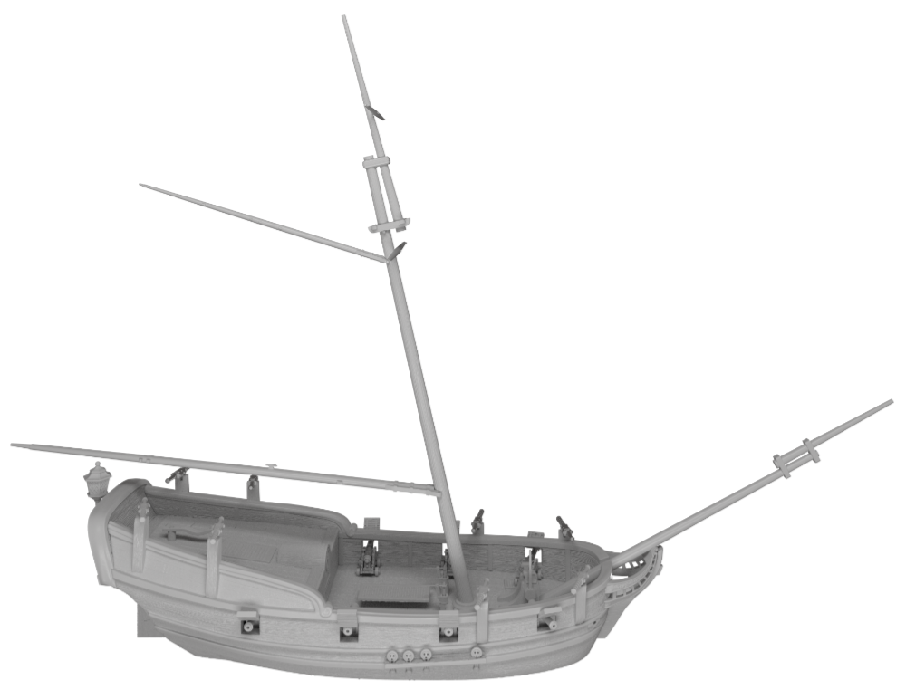 Raise the Black Blood and Plunder preview image of a Bermuda Sloop