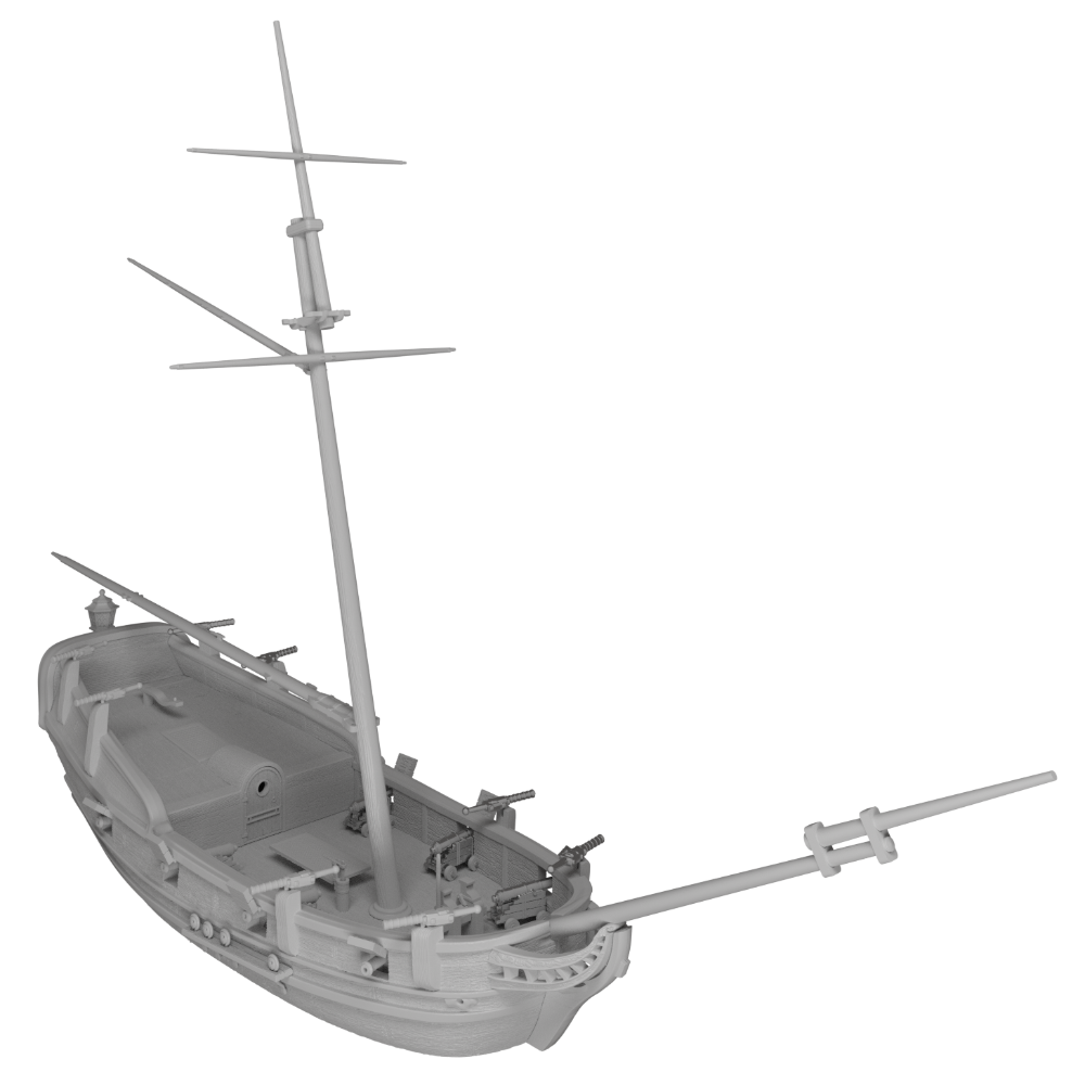 Raise the Black Blood and Plunder preview image of the Bermuda Sloop