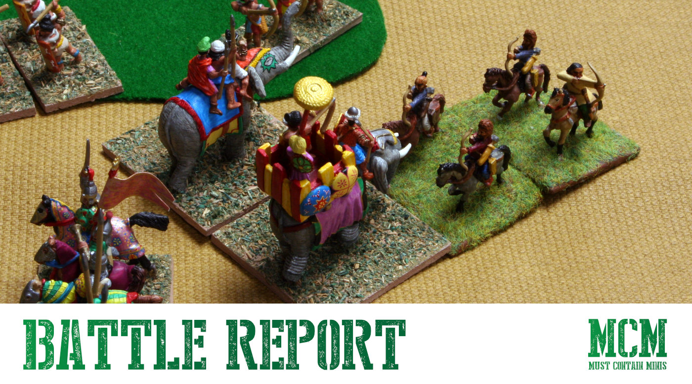 DBA Battle Report – Medieval Hindu vs Turkish Army
