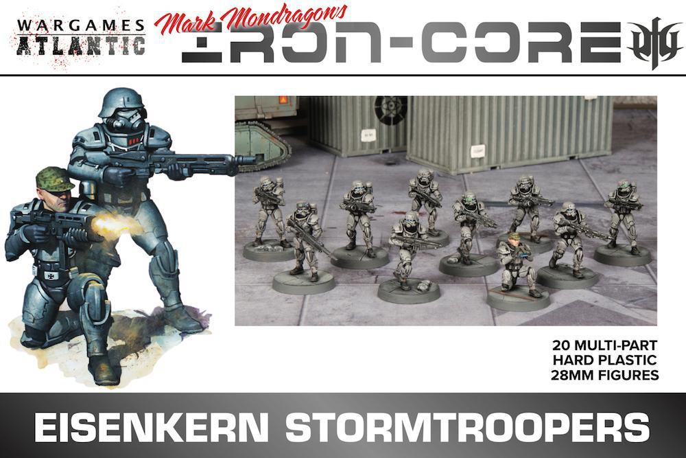 Eisenkern Stormtroopers Box Art - Wargames Atlantic