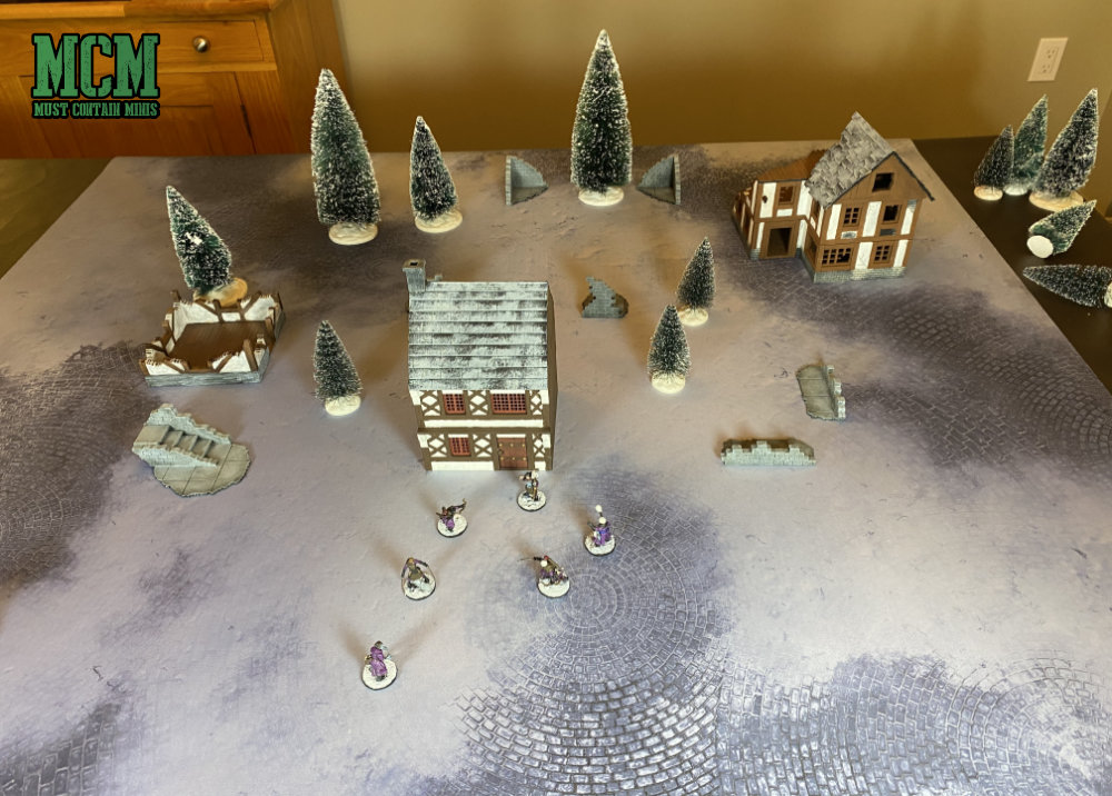 Frostgrave Game Mat Review - Frozen City Gaming