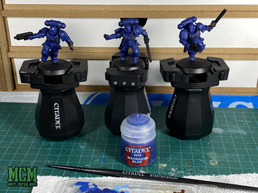 Painting my Space Marines by Games Workshop