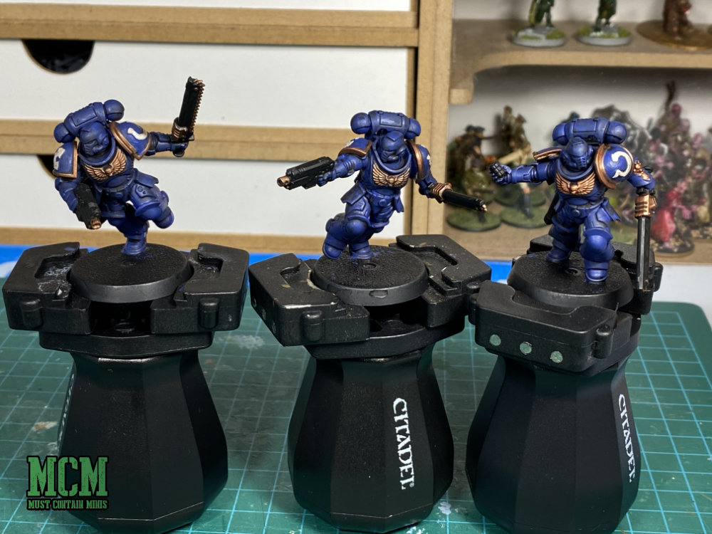 Painting New40K Space Marines