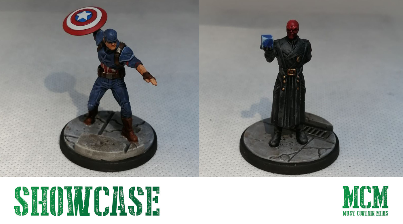 Marvel Crisis Protocol Painted Miniatures Showcase