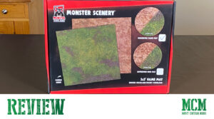 Monster Scenery Game Mat Review