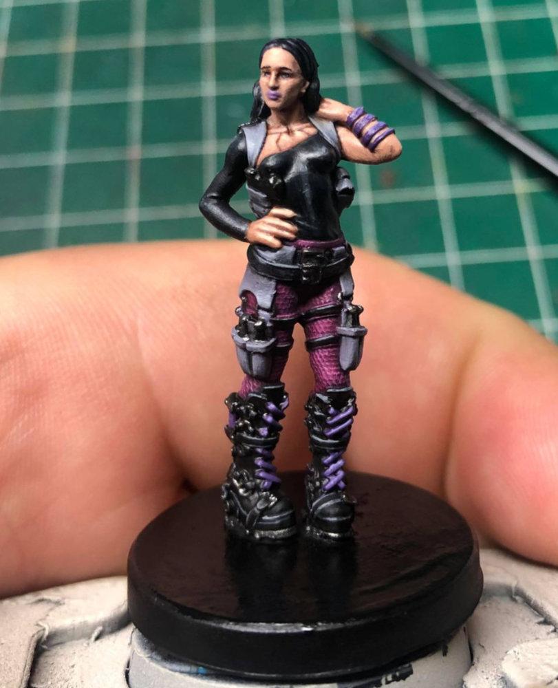 Team Monster Miniatures - Nox Arya
