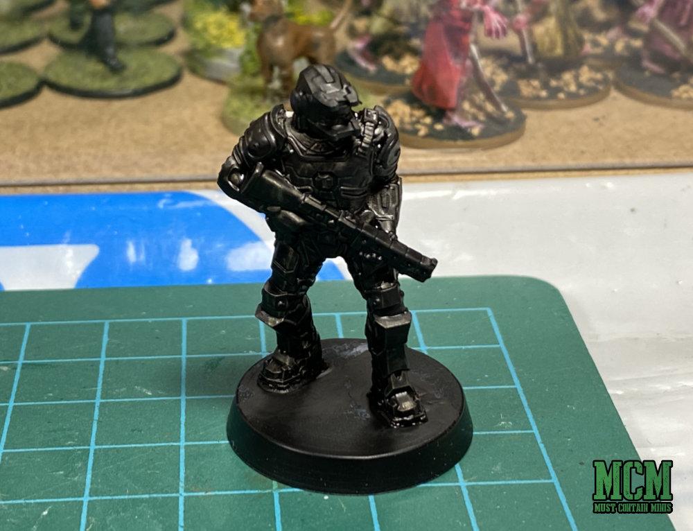 Painting a Legions of Steel Miniature - Priming