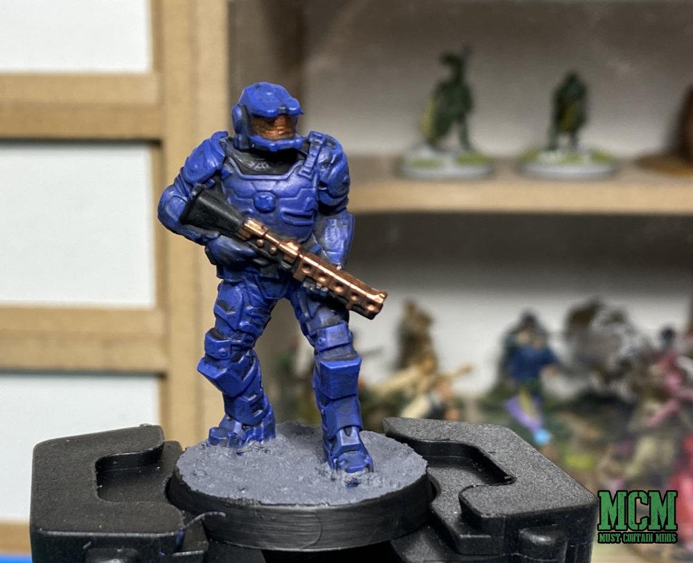 Painted Legions of Steel Miniature