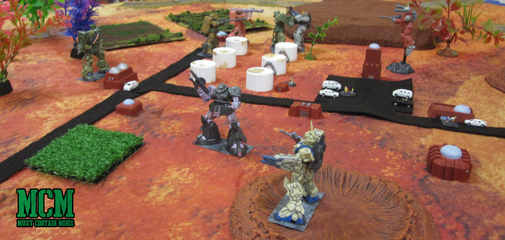 Samurai Robots Battle Royale Battle Report