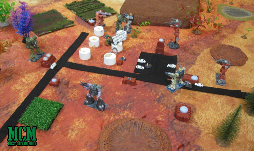 Miniature Wargaming in a large scale