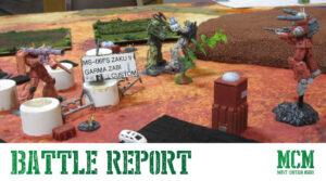 Samurai Robots Battle Royale Battle Report