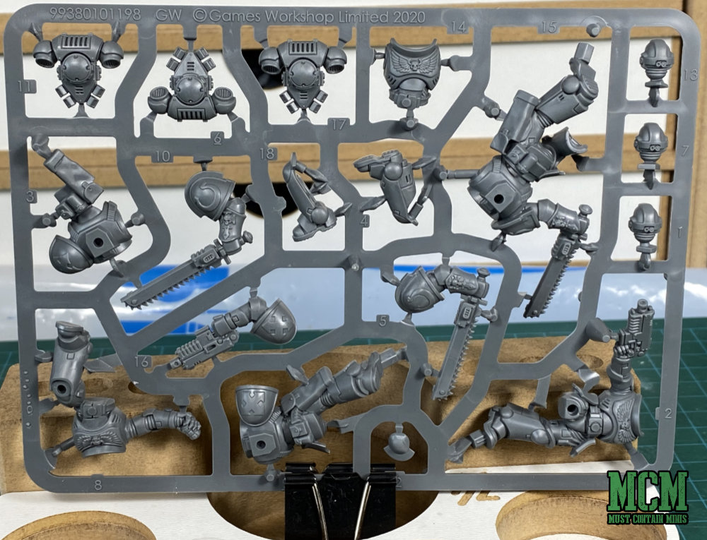 Space Marine Easy Build Assault Intercessors Sprue