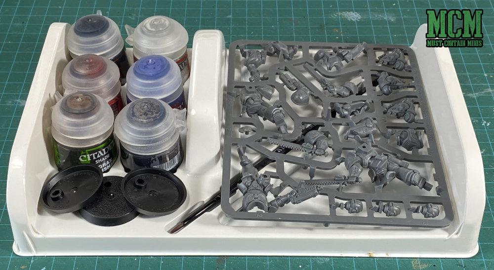 Space Marines: Assault Intercessors + Paints Set Unboxing