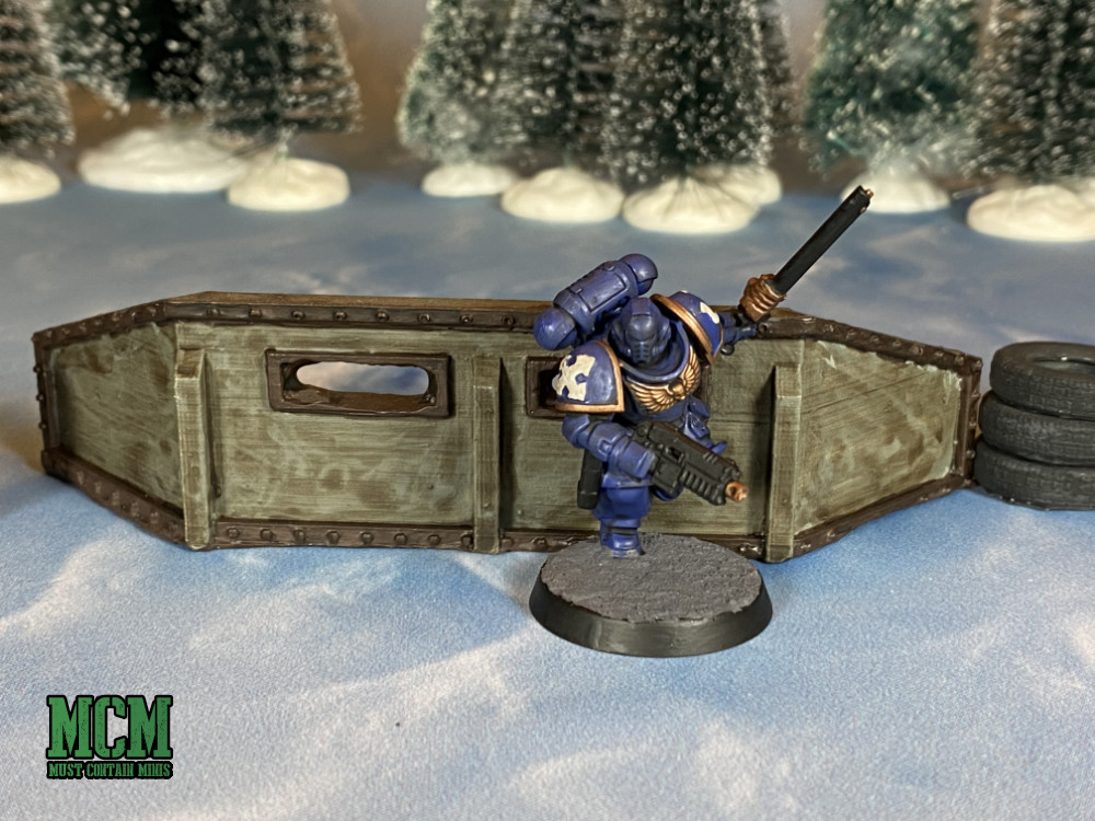 Steel Defense Wall Review - Wargaming Terrain for 40K and other games