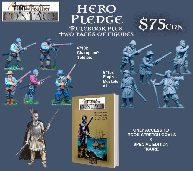 Flint and Feather Contact Hero Pledge