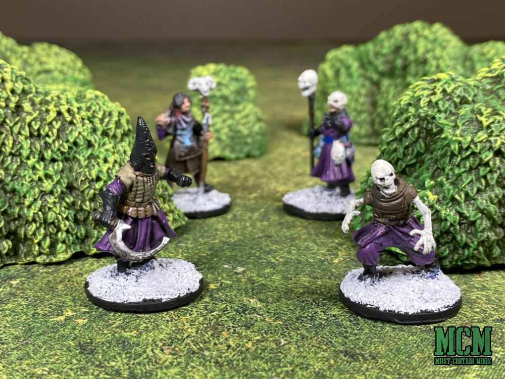 Monster Scenery: Bushes Review - Frostgrave Miniatures