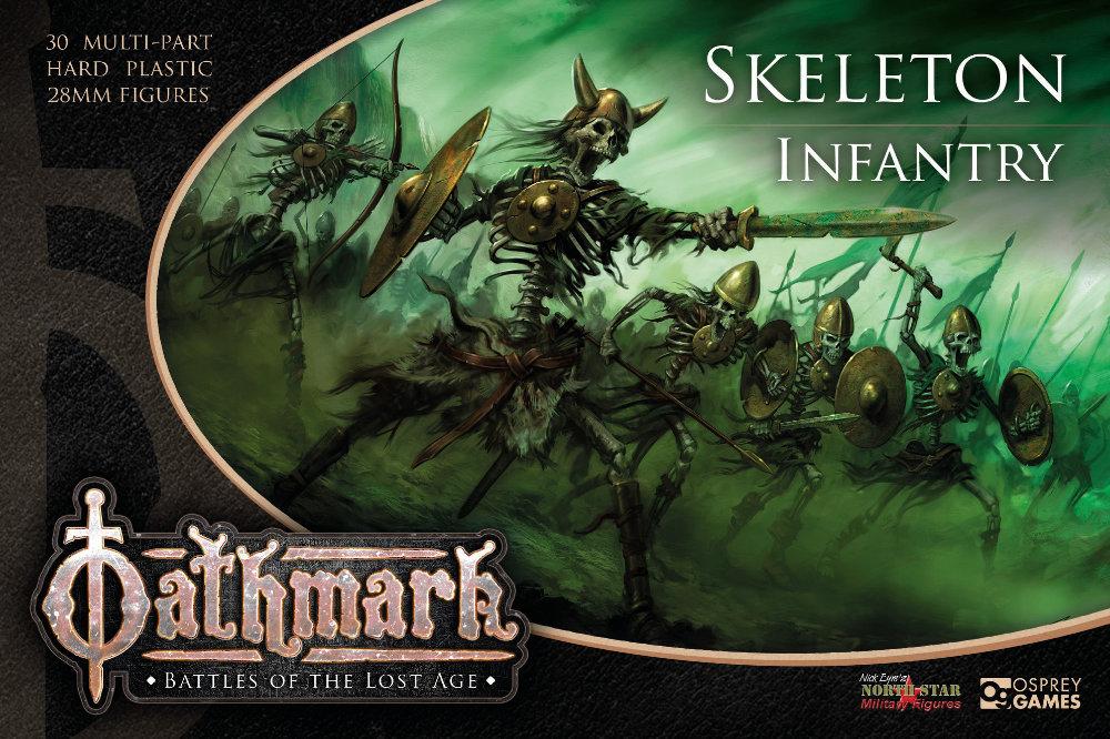 Oathmark Skeleton Infantry box art
