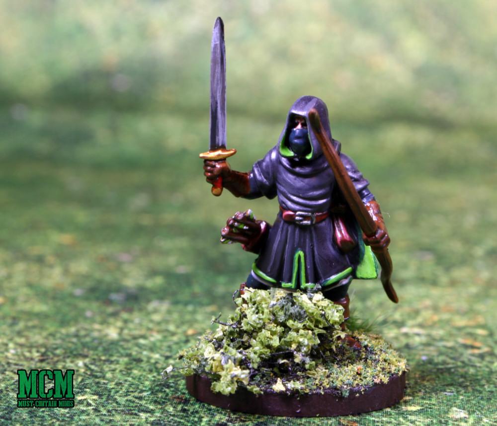 Oathmark Ranger with a sword drawn
