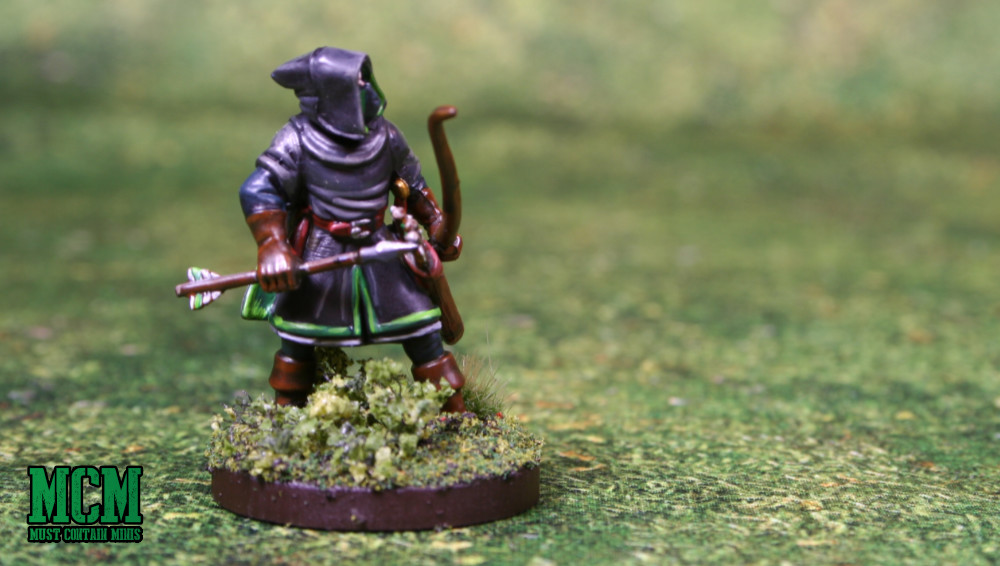 28mm miniature Elf Ranger by North Star Military Figures and Osprey Games.