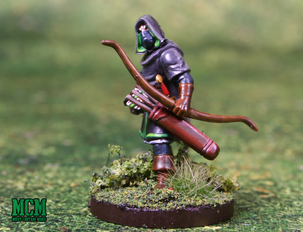 An Oathmark Ranger - he would make an awesome Dungeons and Dragons Character mini for an Elf Ranger too!