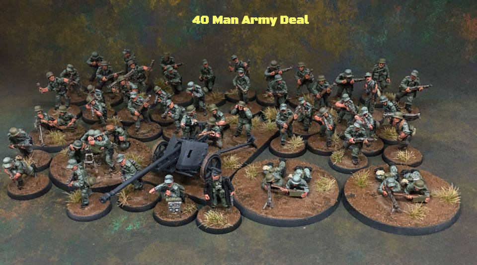 Gaddis Gaming German army - 28mm miniatures
