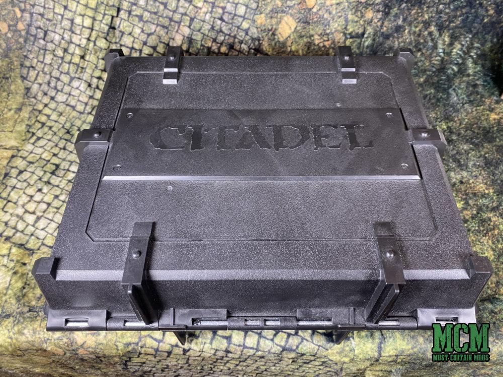 Citadel Skirmish Figure Case Review - Skirmish Miniatures Carrying Case by Games Workshop