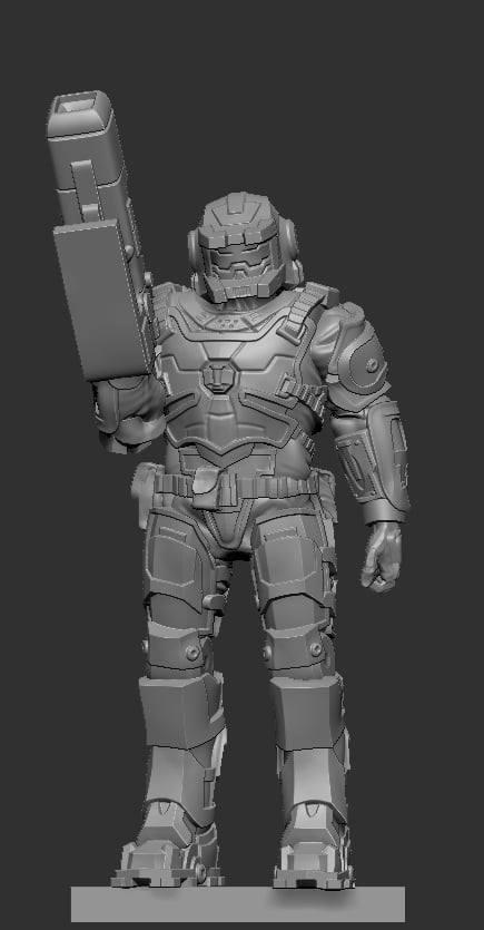 Heavy Weapons Commando