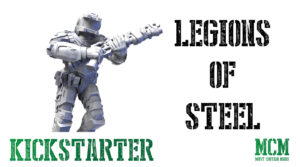 Legions of Steel: Operation Anvil Kickstarter Update