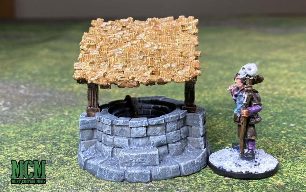 A well for miniature and RPG gaming