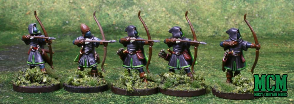 Oathmark Rangers - 28mm Light Elf Infantry