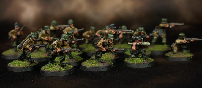 Gaddis Gaming Miniatures - German