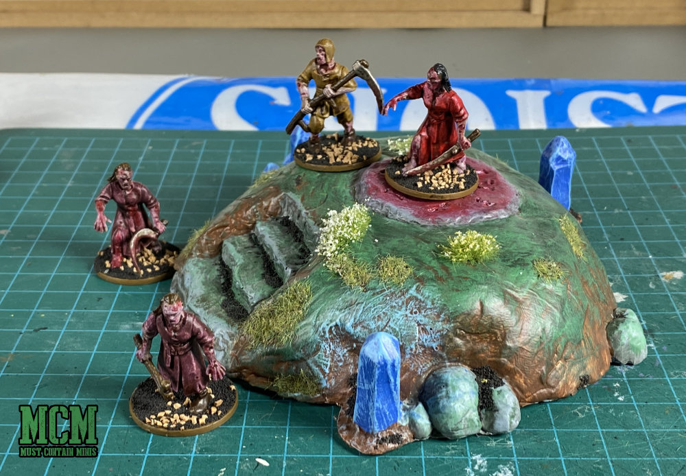 28mm Gaming Terrain - Oathruin - magical circle