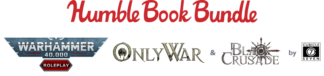 Humble Bundle Bar Ad - Warhammer 40,000